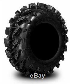 MSA Black Kore 14 UTV Wheels 28 Swamp Lite Tires Polaris Ranger 900 XP