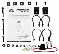 MTX MUD6SP Six-Speaker Soundbar System for Polaris/RZR/ATV/UTV/Jeep/Cart+Rockbox