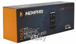 MTX RZRPOD65 6.5 Dash Mount Speakers+Bluetooth Controller For Polaris RZR/UTV
