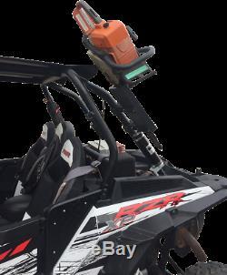 Moose Utility UTV Roll Bar Chainsaw Mount Fits Polaris RZR Yamaha YXZ and Can Am
