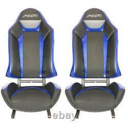 NEW STYLE Polaris Turbo S RZR XP1000 900 Seats Black/Blue/White 1 Pair