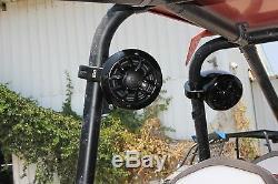 Noam NUTV4 Marine Bluetooth Rzr Canam Atv Golf Cart Utv Speakers Stereo System
