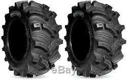 Pair 2 Kenda Executioner 26x10-12 ATV Tire Set 26x10x12 K538 26-10-12