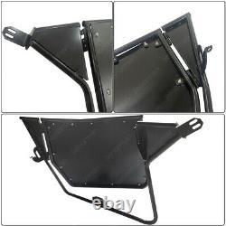 Pair 2PCs Aluminum Doors UTV Side Door for Polaris RZR RZR-S XP 800 900 570 2014
