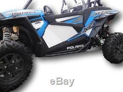 Polaris 2014-2020 RZR 900 Trail, 900-S, XP1000 & Turbo Nerf Bars Steps Black