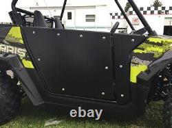Polaris RZR 170 doors powder coated Black RZR 170 Full Swing open doors kit