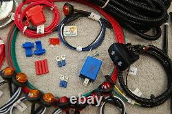 Polaris RZR 570 800 900 1000 TURBO TURBO S & RS1 ACE LED Turn-Signal Kit withHORN