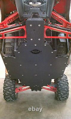 Polaris RZR 800 S skid plate UHMW SSS Off Road