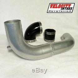 Polaris RZR 900 S 1000 Velocity Intake Tube 4% HP Increase 15-17 Aluminum Air