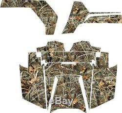 Polaris RZR RANGER 570 800 900 DECALS WRAP DOORS UTV camo camouflage weeds 1