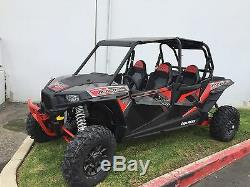 Polaris RZR XP 1000/900 Turbo RED Front Bumper with Skid Plate 2014-2018