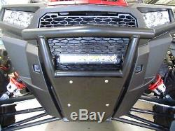 Polaris RZR XP 4 1000 900 Turbo Front Bumper Black with Skid Plate 2014-2018