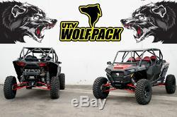 Polaris RZR XP1000 / Turbo 4 Seat Radius Roll Cage Heavy Duty UTV Wolfpack Black