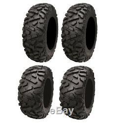 Polaris Ranger RZR 800 900 570 700 500 Set of (4) 26 Tires 26x10-12 / 26x9-12