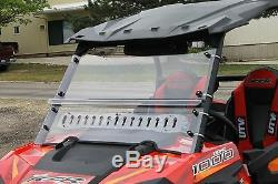 Polaris Rzr 4 900 & S 900 & 900 2015-2019 Full Vented Windshield Sale