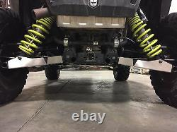 Polaris Rzr S 1000 2015-2019 60 Front & Rear A-arm Guards 1/8 Alum Made In USA