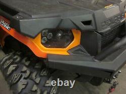 Polaris Scrambler RZR ACE Sportsman Ranger LED BLACK Headlight Kit (Pair)