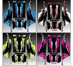 Polaris rzr 170 Complete graphics kit fits utv kingz opening doors