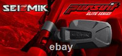 Pursuit Elite HD Aluminum Side Mirror Set 1.75 RZR Ranger Rhino YXZ Wildcat X3