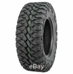 QuadBoss QBT846 27x9-14 & 27x11-14 ATV UTV DOT Tires (Set of 4)