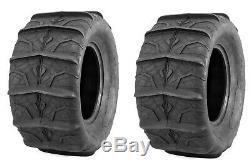 QuadBoss UTV SXS Sand Dune Front Rear Paddle Tires QBT346 28x14 (Four)