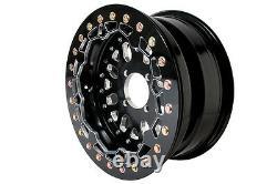 RZR XP 1000 900 Baja Crushers Beadlock Wheels 15 x 7 5+2 Front Rear 156B