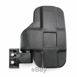 Rear Side View Mirror For 1.75'' 2'' Clamp UTV ATV Polaris Ranger 400 500 800 XP