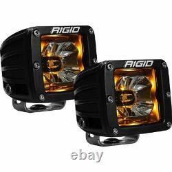 Rigid Industries 20204 Radiance Broad Spot Light Pod With Amber Backlight Pair