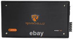 Rockville 2400 Watt Micro 4-Channel Amplifier Amp For Polaris RZR/ATV/UTV/Cart