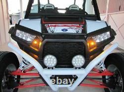SM LED Turn Signal Light Kit 2008-15 Polaris RZR S 4 570 800 900 1000 XP XP-4 XC