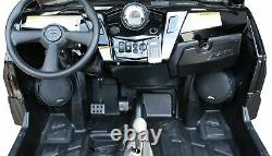 SSV Works Front Speaker Pods Unloaded 6.5 Pair 08-14 Polaris RZR 570 800 900
