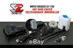 Seizmik Utv Universal Windshield Wiper Washer Kit Polaris Ranger Rzr General
