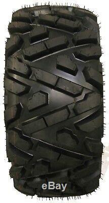 Set of 4 WANDA ATV/UTV Tires 25X8-12 25X10-12 for 2008-2014 POLARIS RZR 570/800