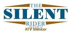 Silent Rider (Benz) ATV UTV Exhaust Silencer BT-53 Polaris RZR 800/800-4 (09-14)