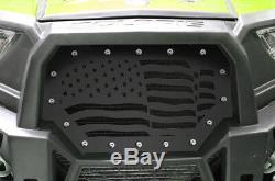 Steel Grille for Polaris UTV Part RZR 1000 900 S XP 2014-18 AMERICAN FLAG Grill