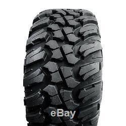 Tusk Terrabite Radial ATV UTV Tire Kit Set Of Four 4 Tires 32x10-14 DOT Approved