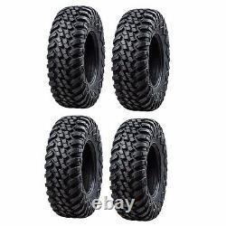 Tusk Terrabite / Wasatch Wheel + Tire Kit 30x10-14 POLARIS RZR XP 900 XP 4 900