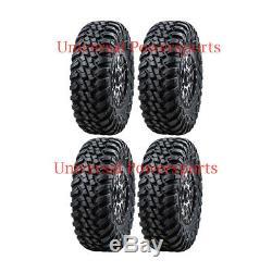 Tusk Terrabite / Wasatch Wheel + Tire Kit 30x10-15 POLARIS RZR XP 1000 XP 4 1000