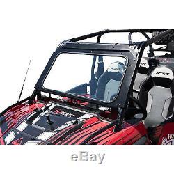 Tusk UTV Full Glass Windshield Vented Front Window Polaris RZR S 900 20152019