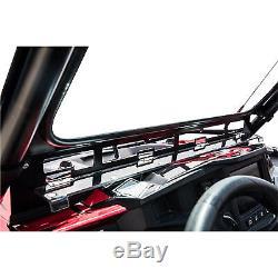 Tusk UTV Full Glass Windshield Vented Front Window Polaris RZR XP 4 1000 & Turbo