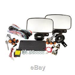 Tusk UTV Horn And Signal Kit Street Legal Polaris RZR 570 800 900 XP S Trail XC