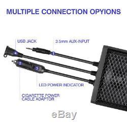 UTV 1.75-2.25 Sound Bar Bluetooth For Can Am Maverick 2020 Polaris RZR Pro XP
