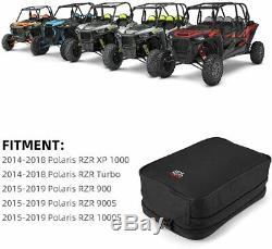 UTV Armrest Console Storage Bag For Polaris RZR 900 S 1000 XP 1000 Turbo 2014-19