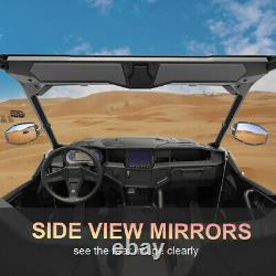 UTV Convex Rear View Side Mirrors With1.75-2 Clamp Roll Cage For RZR Can-Am XP