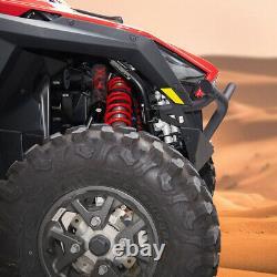 UTV Front + Rear Bumper Matte Low Profile Black for Polaris RZR PRO XP 2020-2022
