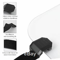 UTV Full Windshield & Hardware NON FOLDING for Polaris RZR 800 S XP 1/5 Thick