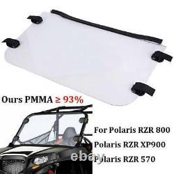 UTV Full Windshield Polycarbonate For Polaris RZR 570 800S 800 XP 900 2008-2014