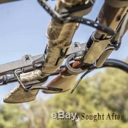 UTV IN-CAB GUN & BOW RACK for POLARIS, JOHN DEERE & CF MOTO SxS Roll Cage Mount