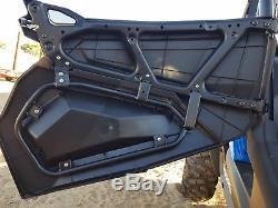 UTV Lower Door Inserts Panels For Polaris RZR XP 4 1000 900 Turbo 2014-19 4Door