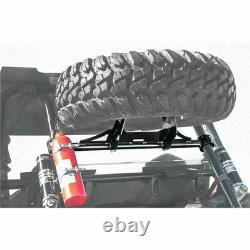 UTV Spare Tire Carrier Mount Rack For 14-19 POLARIS RZR XP 1000 TURBO XP 4